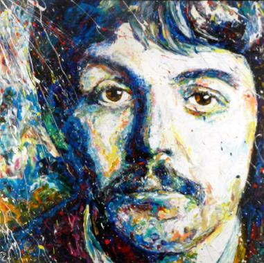 Titel: Paul McCartney, Kunstenaar: Maes, Gilles