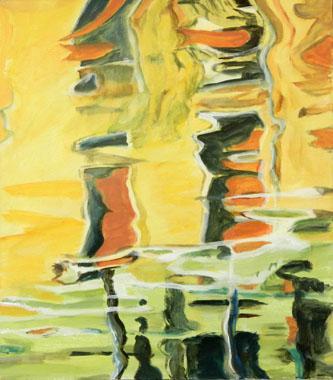 Titel: Reflets Venitiens, Kunstenaar: Doyers, Marianne