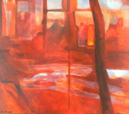 Titel: Extérieur nuit, Kunstenaar: Marianne Doyers