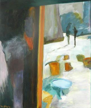 Titel: Contre jour, Kunstenaar: Doyers, Marianne