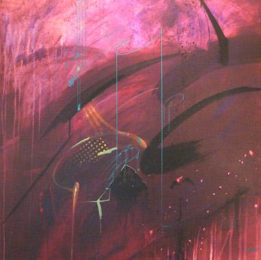 Titel: Pollution malgr� toi, Kunstenaar: STRAIT, Faya