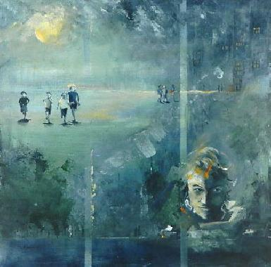 Titel: The mentalist, Kunstenaar: Françoise d'Andrimont