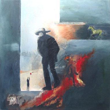 Titel: Le temps qui passe, Kunstenaar: d'Andrimont, Fran�oise
