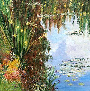 Titel: Reflets 7, Kunstenaar: Van Landeghem, Joelle