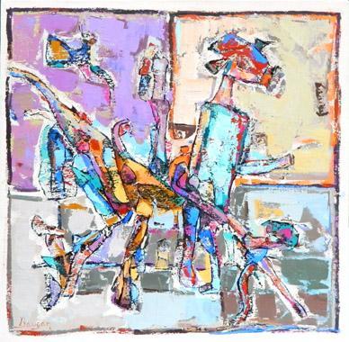 Titel: Les bras et les pieds, Kunstenaar: BAUCAN,