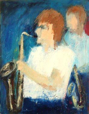 Titel: Sax 5, Kunstenaar: Remy, Madeleine