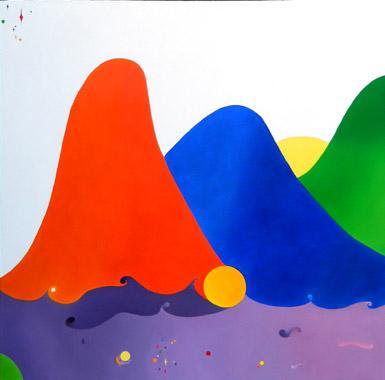 Titel: Vent sur les sommets, Kunstenaar: MILLERET, Muriel
