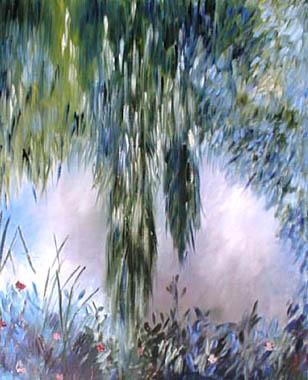 Titel: Etang de Monet 17, Kunstenaar: Van Landeghem, Joelle