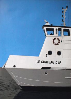 Titel: Chateau d'If, Kunstenaar: Dumont, Michel