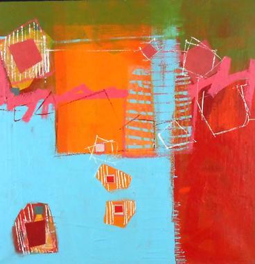Titel: Abstraction 11, Kunstenaar: de Klerk Wolters ,  Nadine