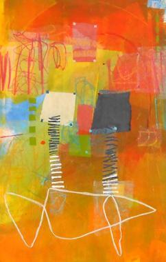 Titel: Abstraction 12, Kunstenaar: de Klerk Wolters ,  Nadine