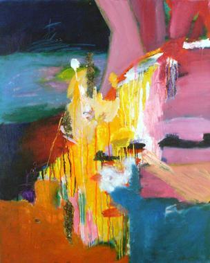 Titel: Sunshine 1, Kunstenaar: Grace Runhare