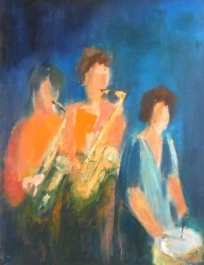 Titel: Sax IV, Kunstenaar: Remy, Madeleine