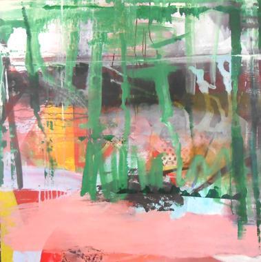 Titel: Abstract 4, Kunstenaar: Godeau, Danielle