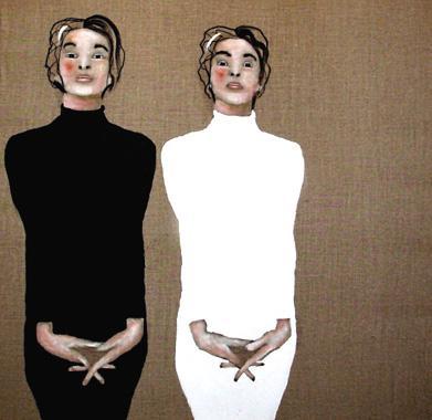 Titre: Dame Noire et Dame Blanche