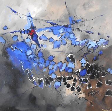 Titel: Abstraction 1, Kunstenaar: Pol Ledent
