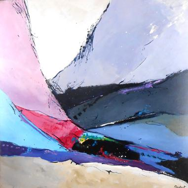 Titre: Abstraction 10, Artiste: Ledent, Pol