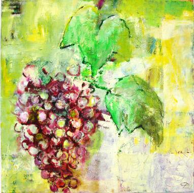 Titel: Traube, Kunstenaar: Pohl, Christine