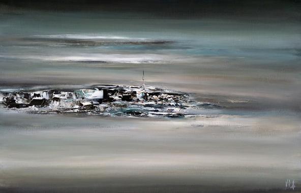 Titel: Paisible encore, Kunstenaar: Nicolas RUELLE