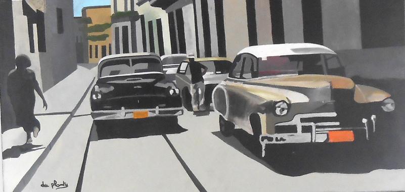 Titel: La Havanne les années 30, Kunstenaar: Anne Du Planty