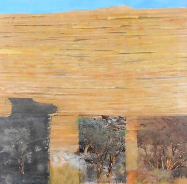 Titel: Les Arbres d'Or, Kunstenaar: Angelika Loher