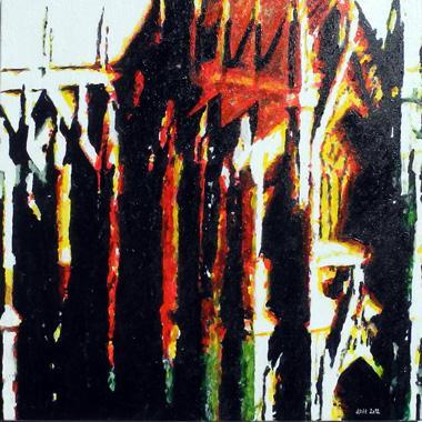 Titel: K�lner Dom II, Kunstenaar: Ditscheid, Dieter