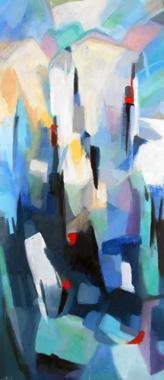 Titel: Dynamisme bleu, Kunstenaar: Collienne, Ren�