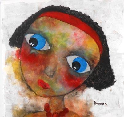 Titel: Corine, Kunstenaar: BOURIANNE, Myriam