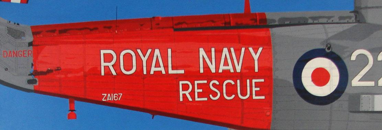 Titel: Royal navy rescue, Kunstenaar: Michel Dumont