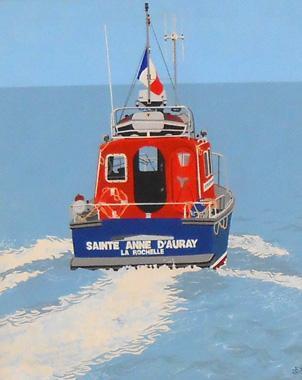 Titel: St Anne Auray, Kunstenaar: Dumont, Michel