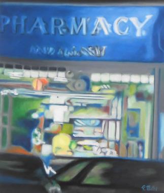 Titel: Pharmacy, Kunstenaar: Pascal MATHE