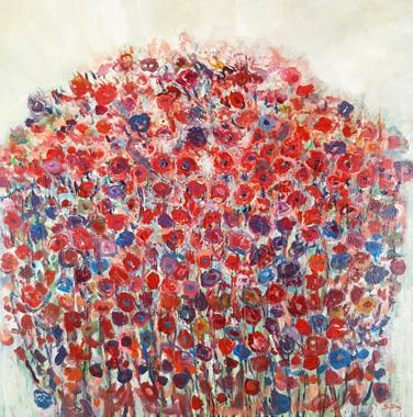 DEZ - peintures florales
