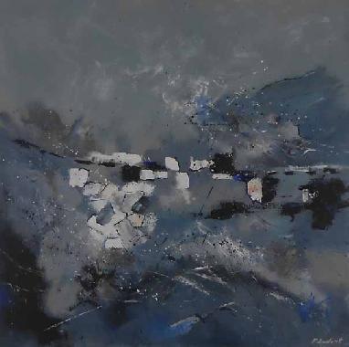 Titel: Abstract Uk 1, Kunstenaar: Ledent, Pol