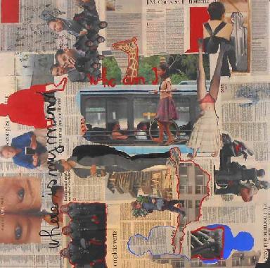 Titel: Quand, Kunstenaar: Monique Prignon