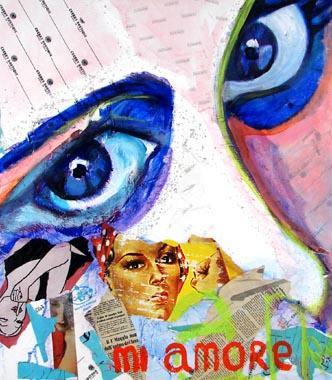 Titel: Mi amore, Kunstenaar: Veronique Rigole