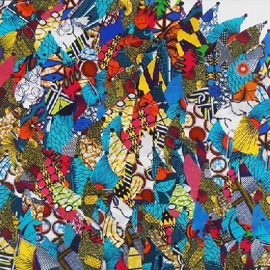 Titel: La Marche  partie 2, Kunstenaar: Olga Dupré