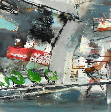 Titel: Urbaine 13, Kunstenaar: HERNANDEZ, Marc