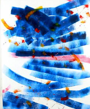 Titel: Roue dans l'espace 1, Kunstenaar: Anne SADDAVONG