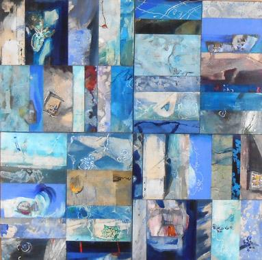 Titel: Bleu 80 New, Kunstenaar: PIGNAT, Armande