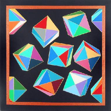 Titel: GEOMETRIE 5 N, Kunstenaar: Moulin, Eug�nie
