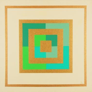 Titel: GEOMETRIE 8 B, Kunstenaar: Moulin, Eug�nie