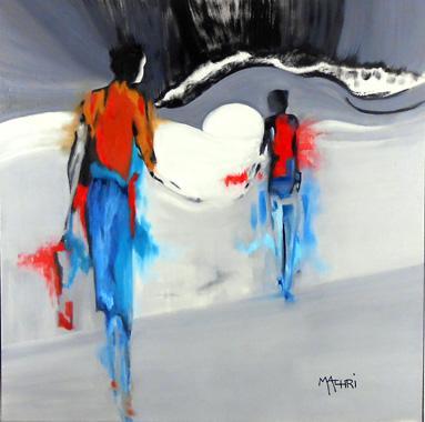 Titre: l'envol, Artiste: Machri, Marie-Christine