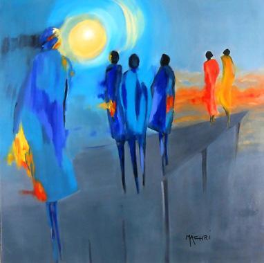 Titre: Vertige, Artiste: Machri, Marie-Christine