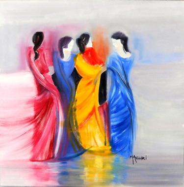 Titel: Partage, Kunstenaar: Machri, Marie-Christine