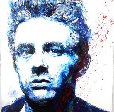 Titel: James Dean, Kunstenaar: Maes, Gilles