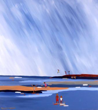 Titel: Summer Feelings 9, Kunstenaar: ACA - Compenaire, Anne-Mieke