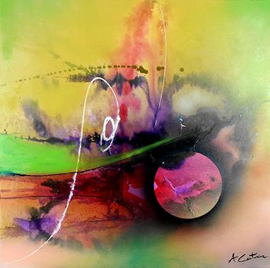 Titel: Aviator, Kunstenaar: Couturier , Annick