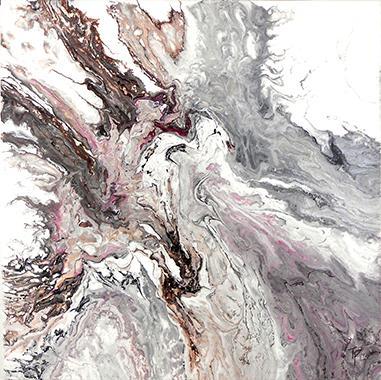 Titel: Rose pale, Kunstenaar: Timmermans, Patricia