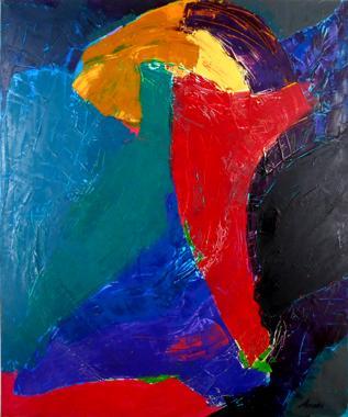 Titel: Spooky business, Kunstenaar: Arati , Nicolas