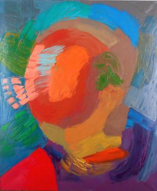 Titel: Blind face, Kunstenaar: Arati , Nicolas